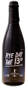 RYE DAY the 13th barley wine beer